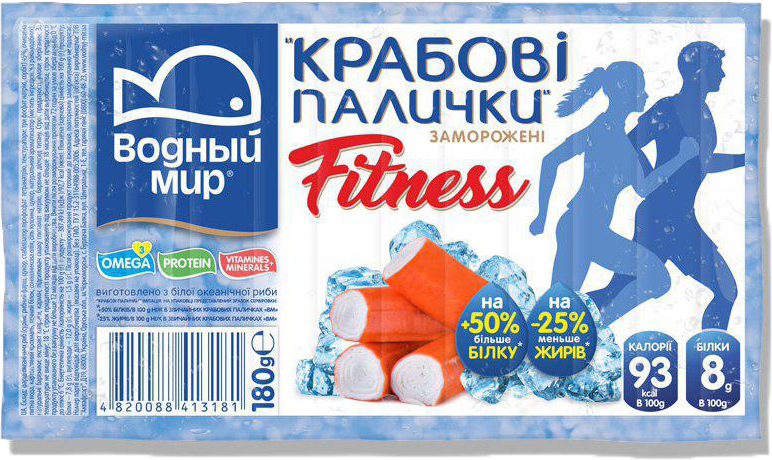 Fitness crabsticks